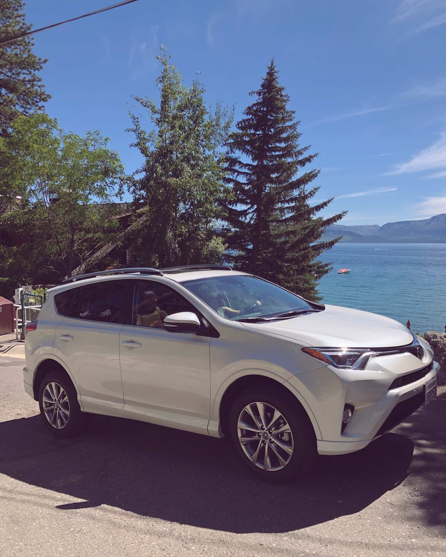 Let's Go Places - 2018 Toyota RAV4 Platinum in Lake Tahoe