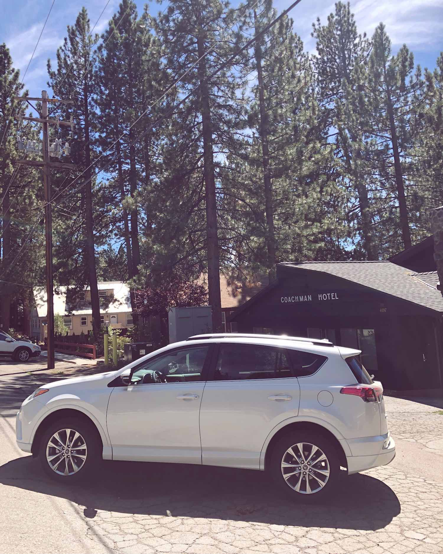 Let's Go Places - 2018 Toyota RAV4 Platinum in South Lake Tahoe
