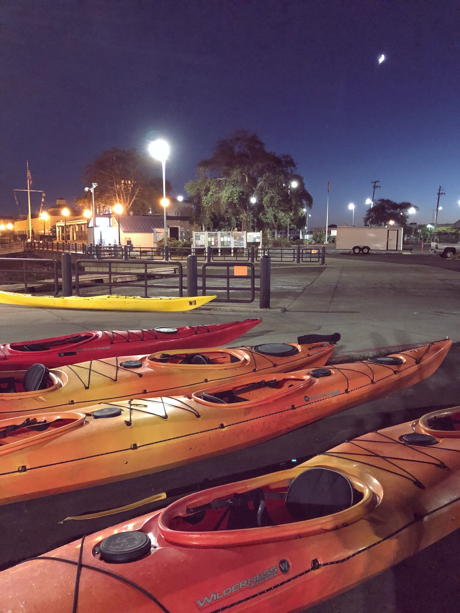 REI Outdoor Classes Moonlight Kayak Class
