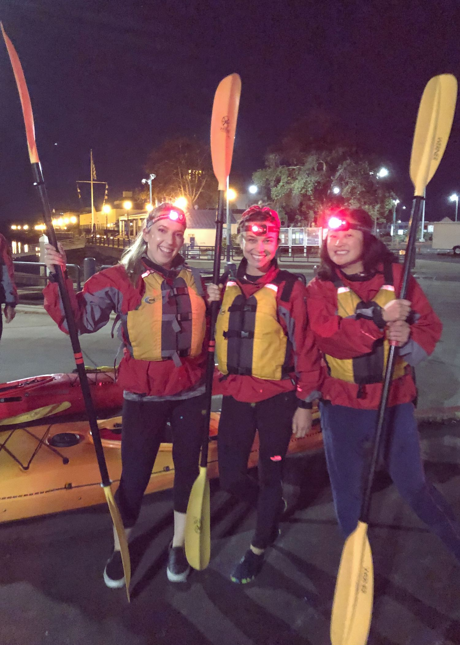 REI Outdoor School Night Kayaking Class