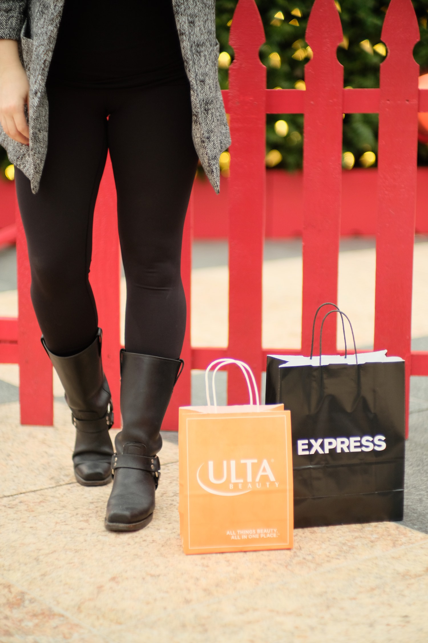 Ulta and Express Shopping Bags