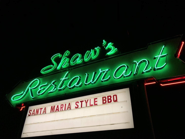 Shaw's Restaurant in Santa Maria