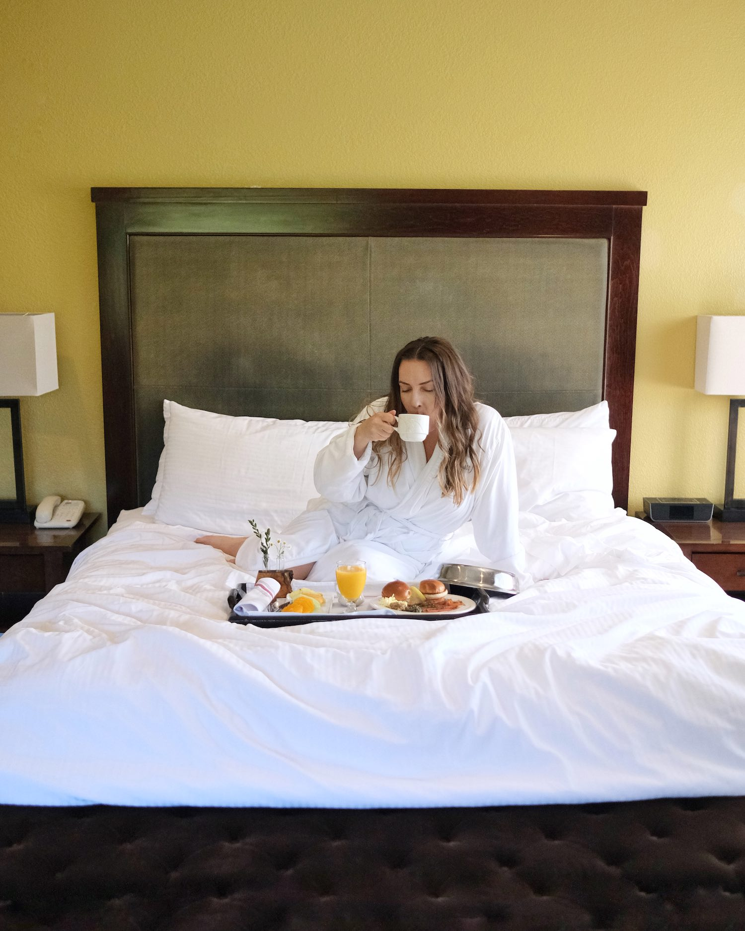 Toll House Los Gatos Breakfast in Bed