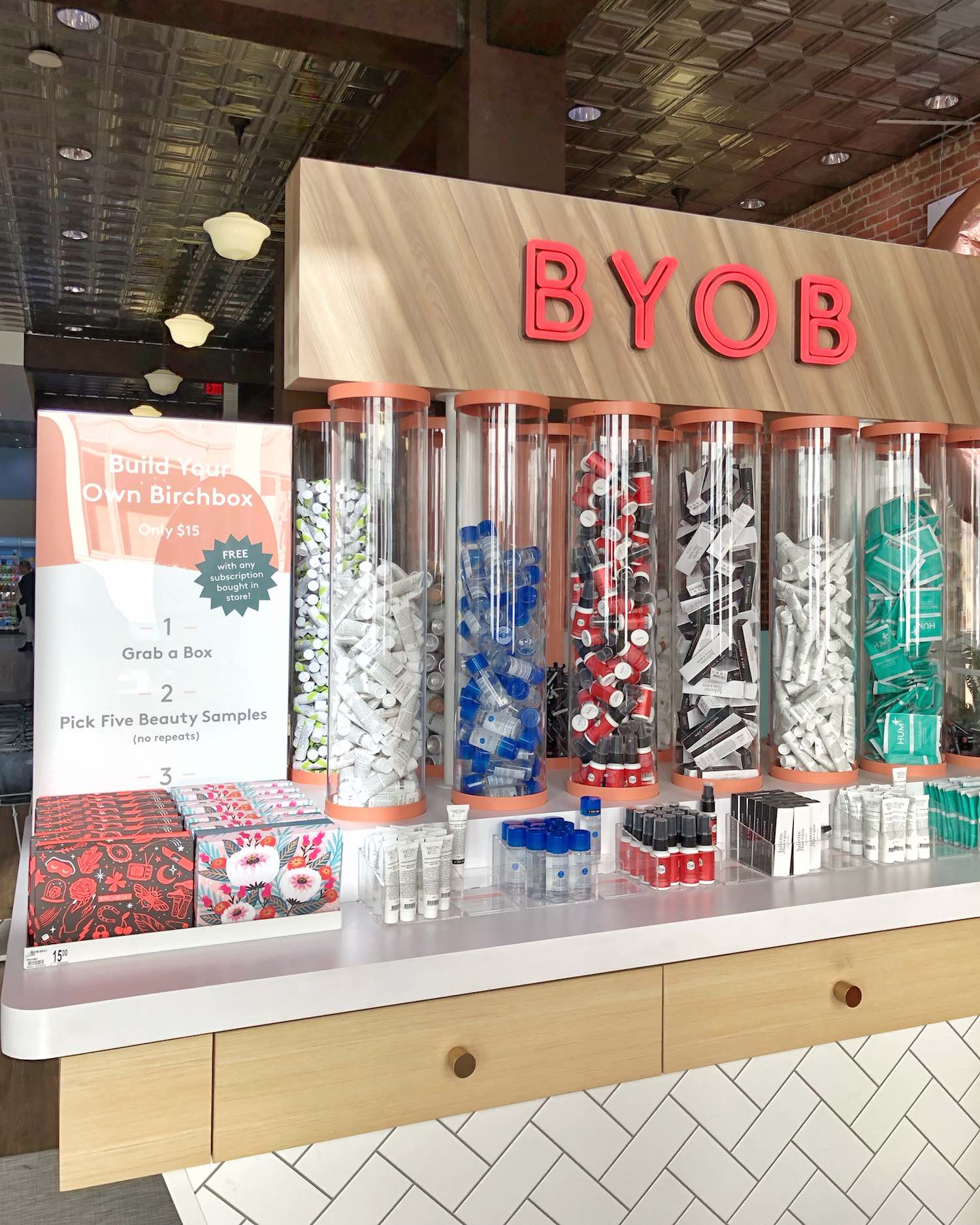 BYOB Birchbox Inside Walgreens