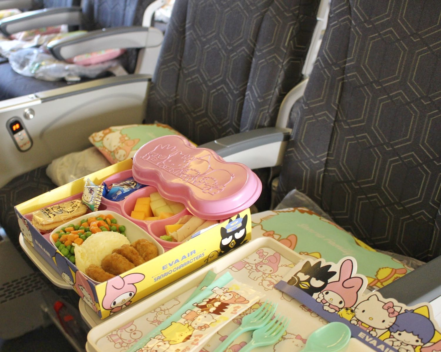 EVA Air Sanrio Characters Meal