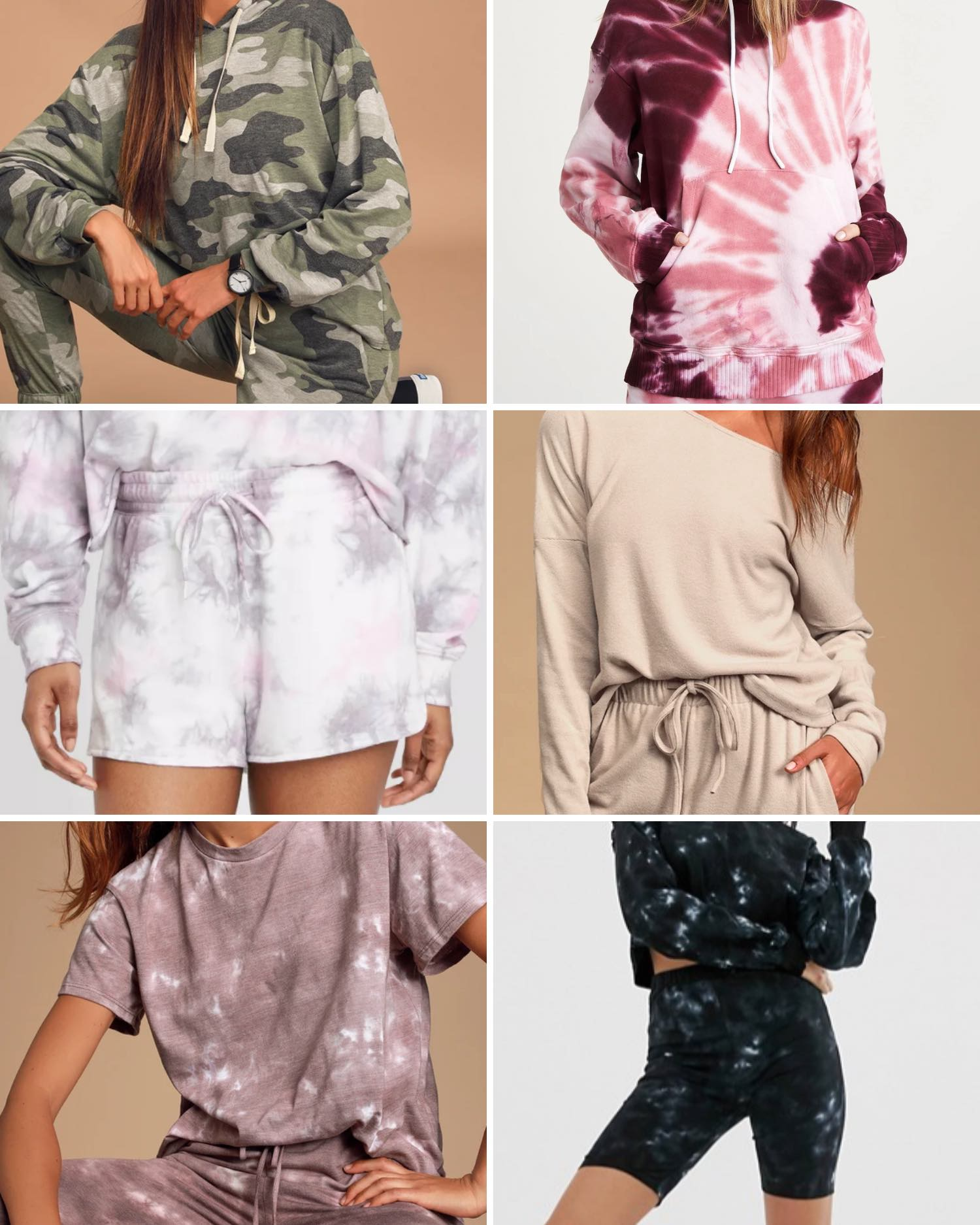 Loungewear Sets Currently In My Cart