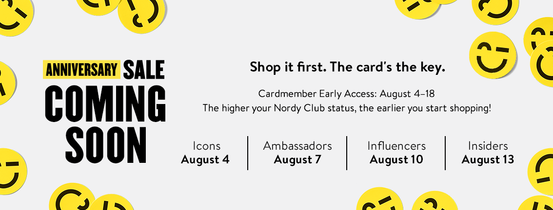 Nordstrom Anniversary Sale 2020 Coming Soon