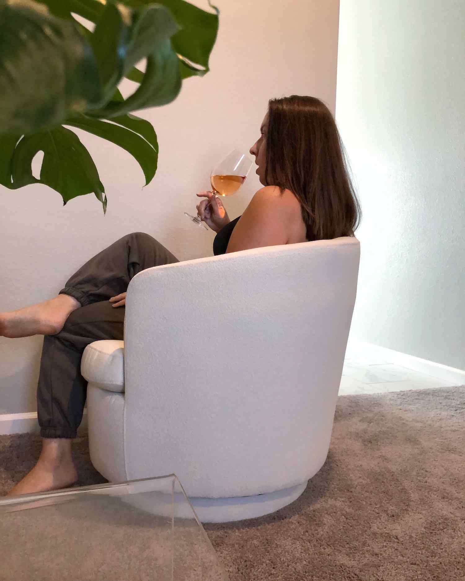 Recent Home Favorites - West Elm Swivel Chair