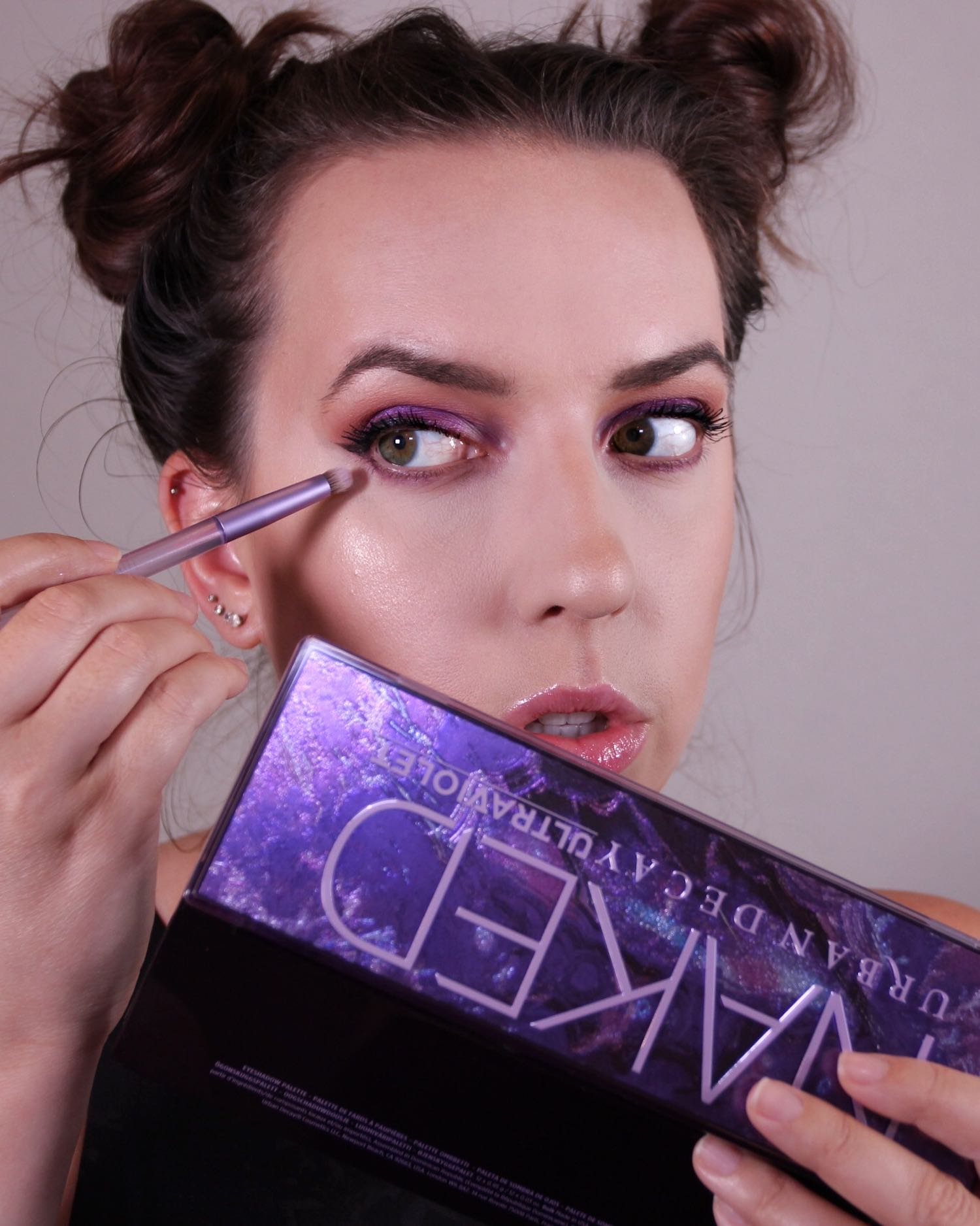 Urban Decay Naked Ultraviolet Palette Review