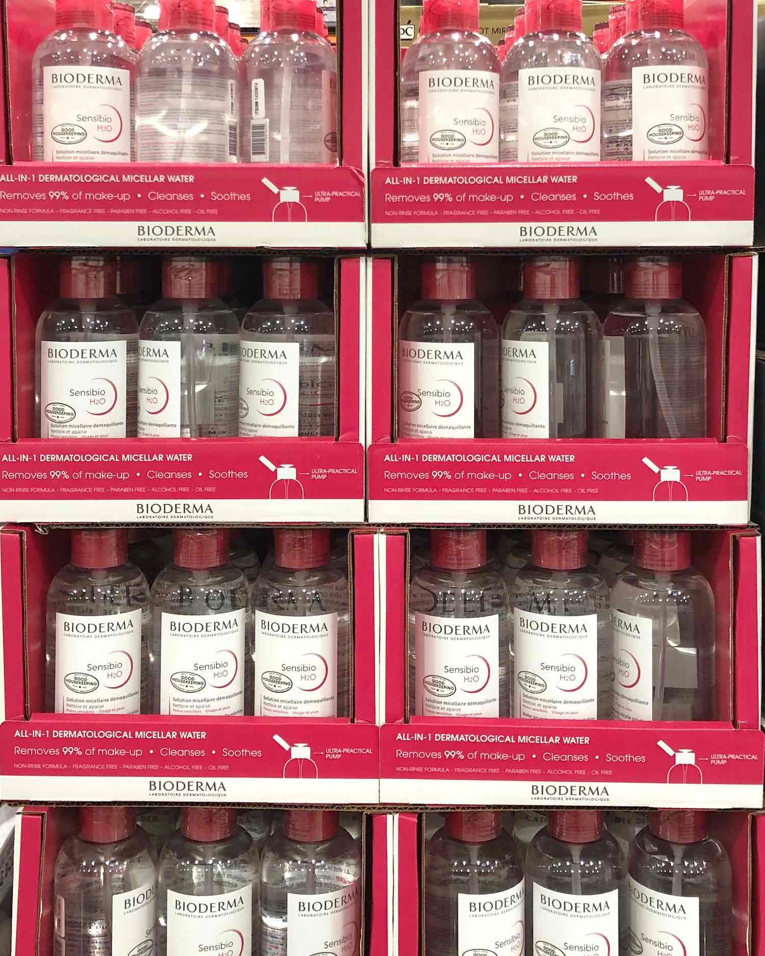 Best Beauty Buys at Costco - Bioderma Sensibio at Costco