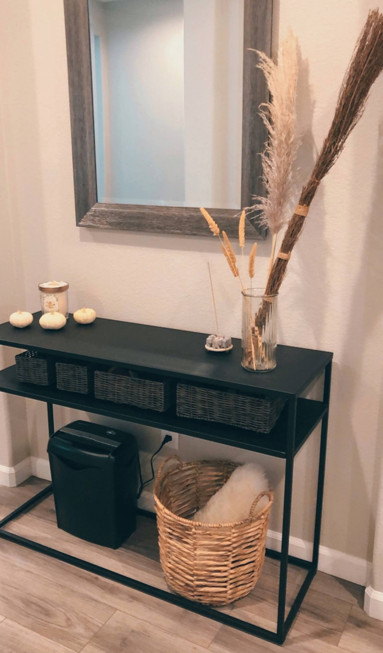 Fall Console Table Styling