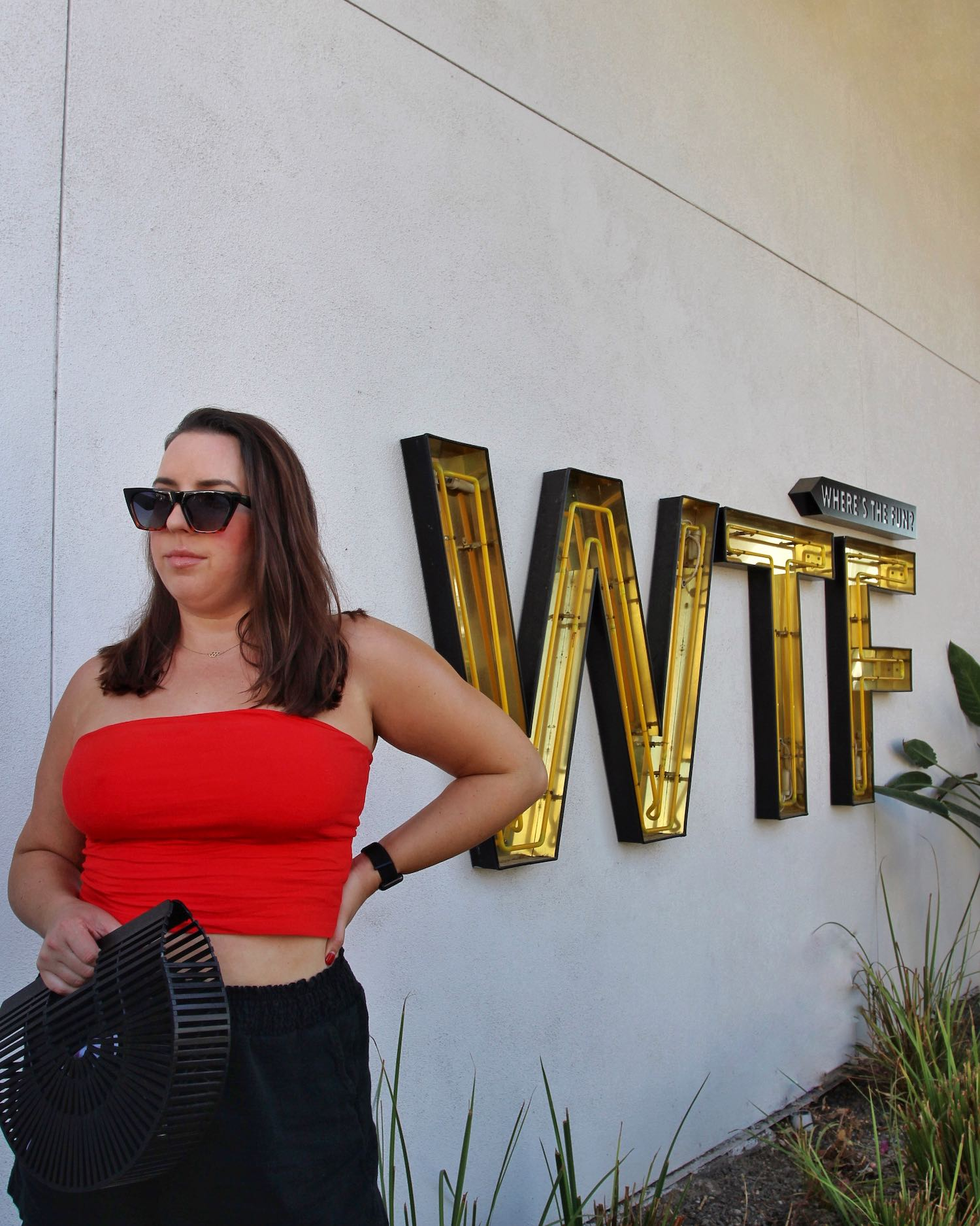 Hotel Adeline WTF Sign