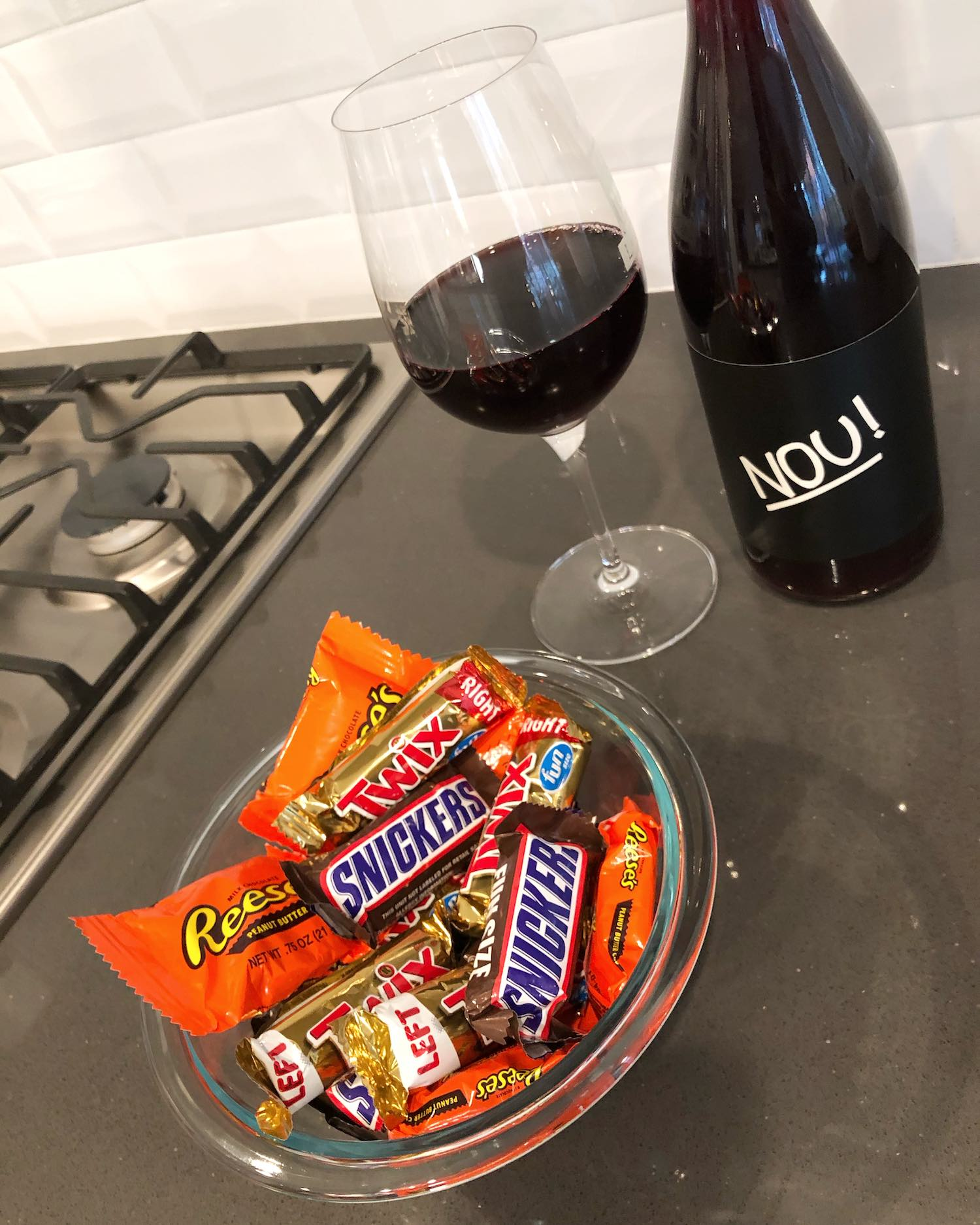 Sonoma Wine and Halloween Candy Pairing