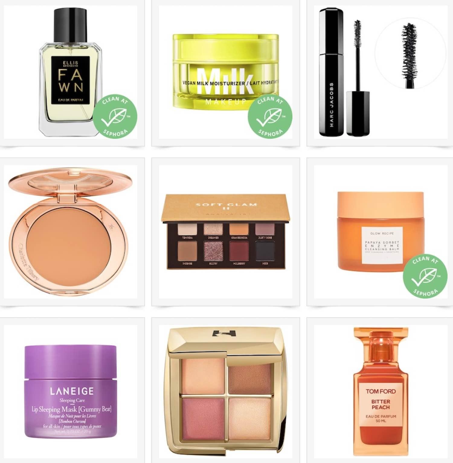 Sephora Holiday Savings Event Wish List