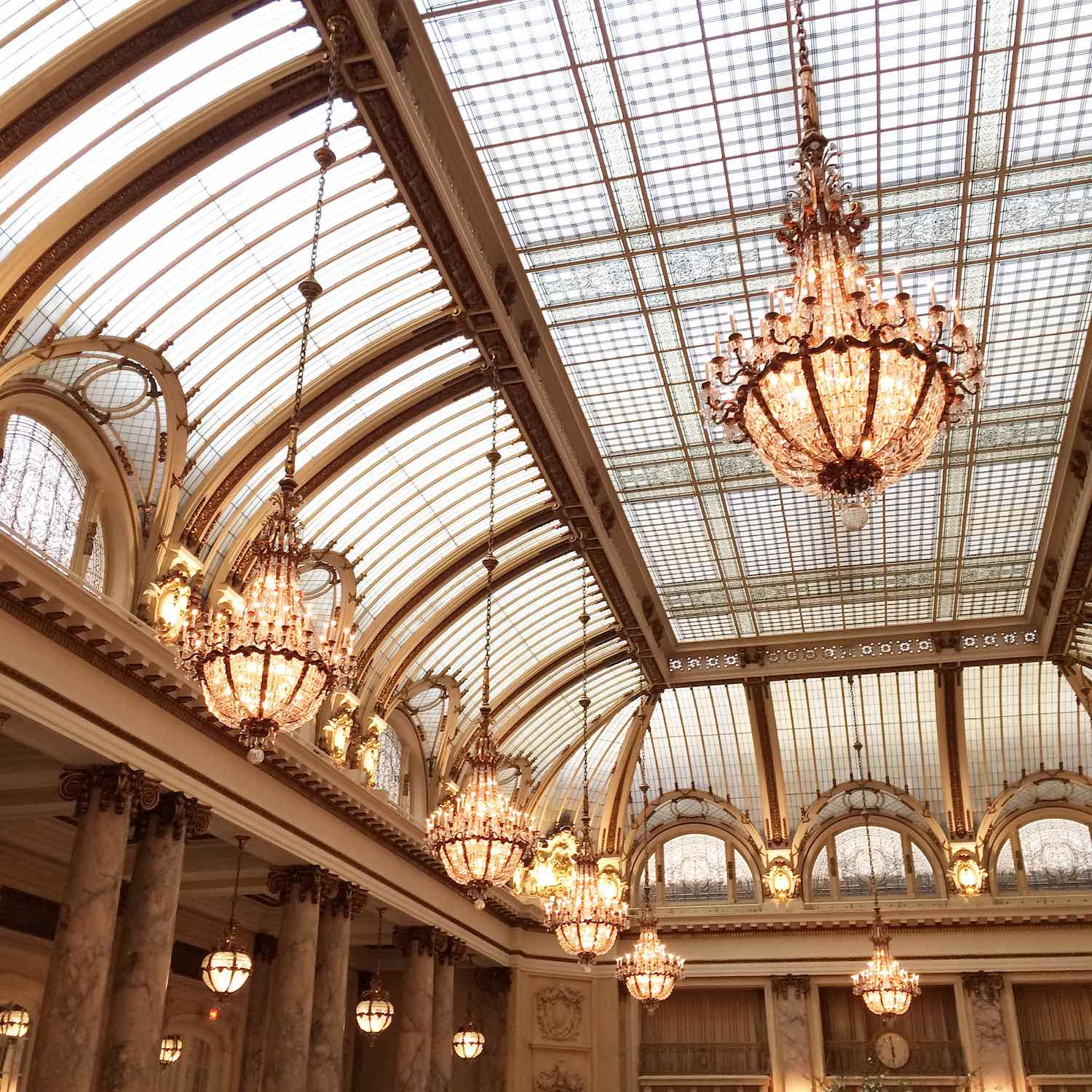 Most Instagram Worthy Spots in San Francisco - Palace Hotel