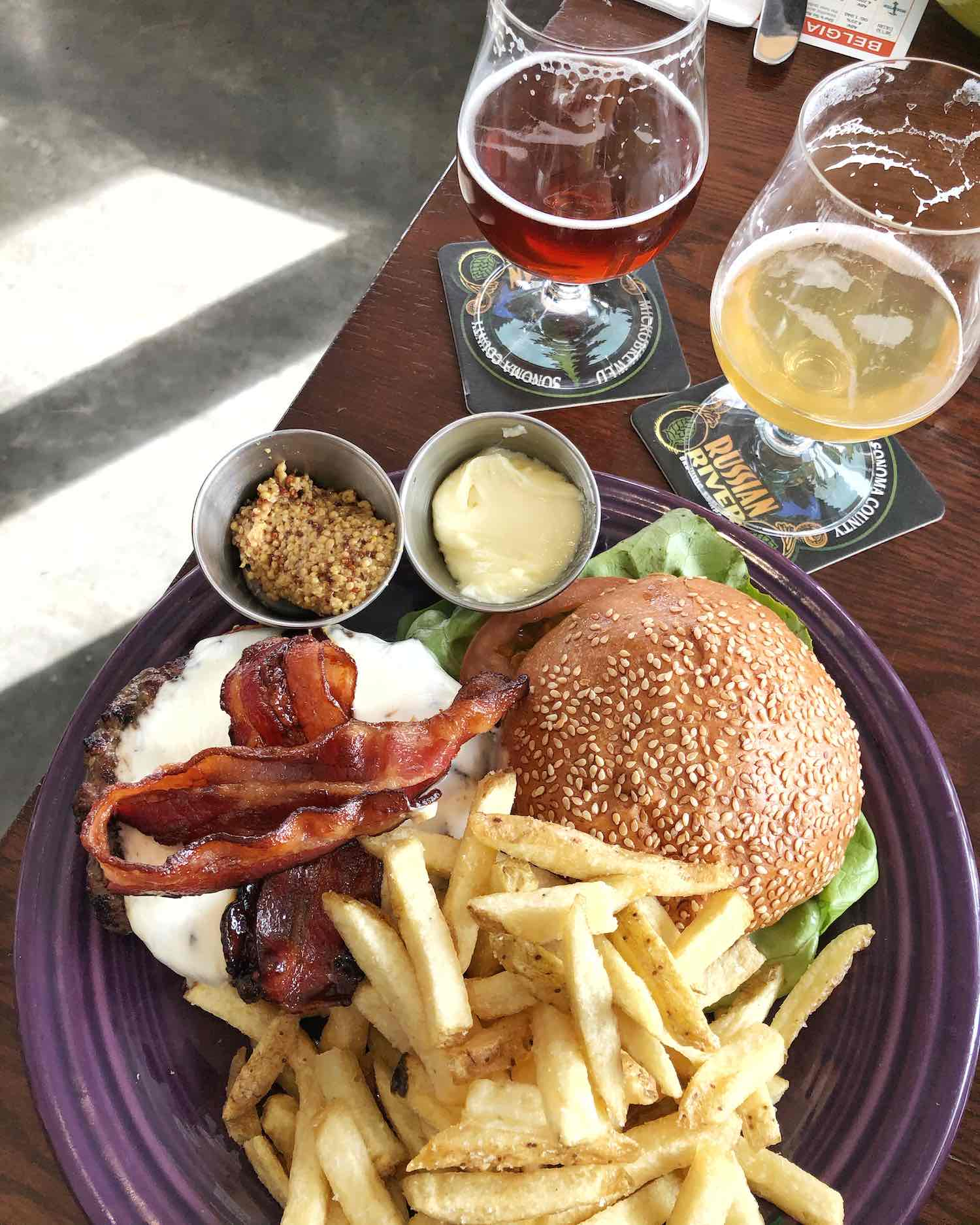 Russian River Brewing Windsor Bacon Burger