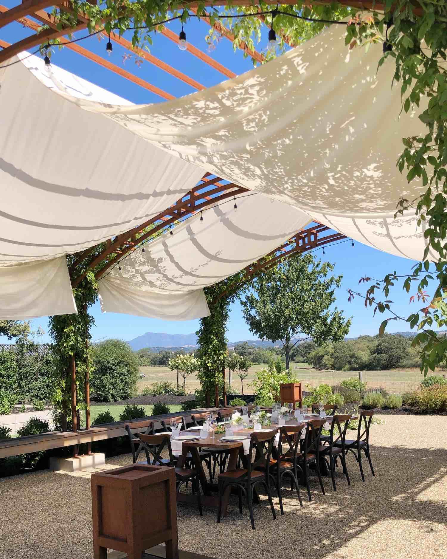 Most Instagram Worthy Wineries in Sonoma County - Bricoleur Vineyards