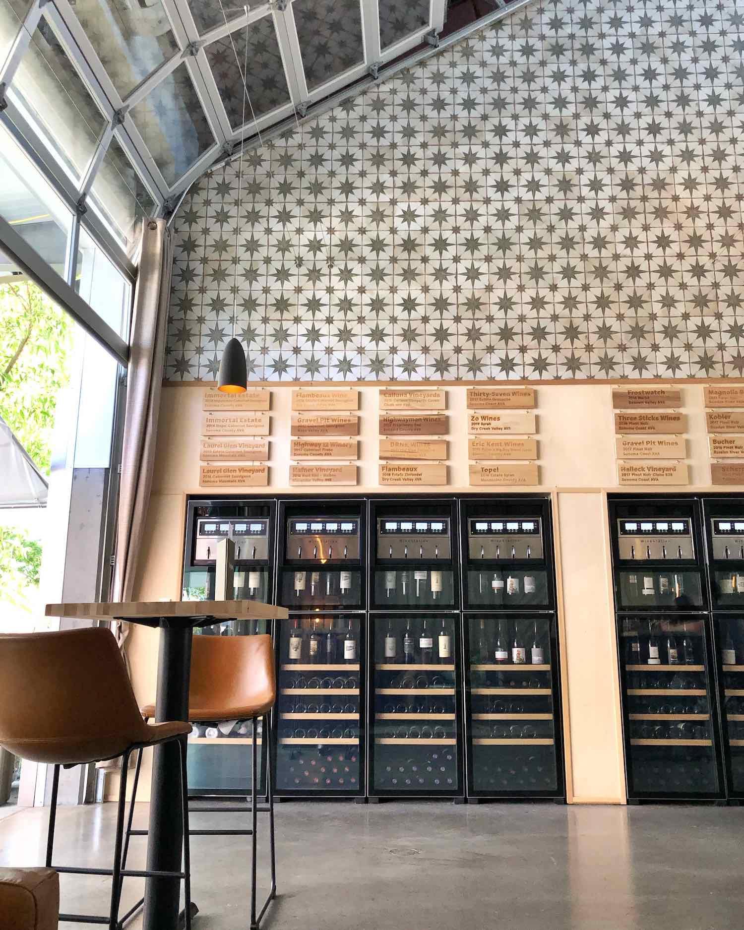 Region Wine Bar at The Barlow Sebastopol