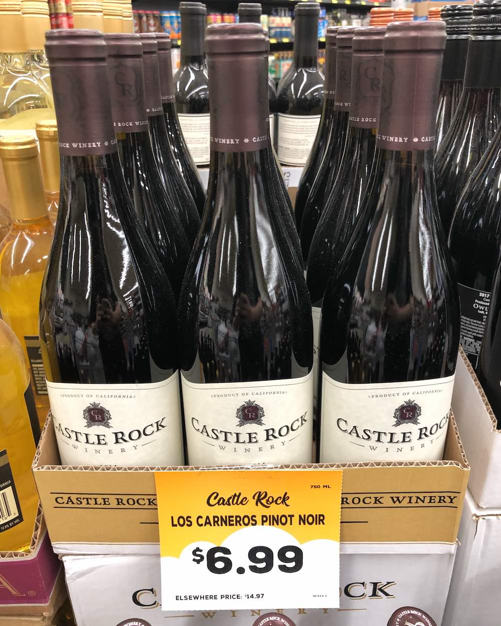 Grocery Outlet Wine - Castle Rock 2014 Los Carneros Pinot Noir